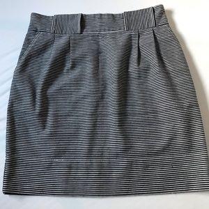 Anthropologie Karen Walker blue striped skirt